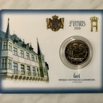 Luksemburg 2 euro 2020.a. Birth of Prince Charles, coincard