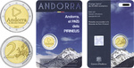 Andorra 2 euro 2017 a. The Land in the Pyrenees
