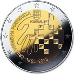 Portugal 2 euro 2015  Red Cross UNC